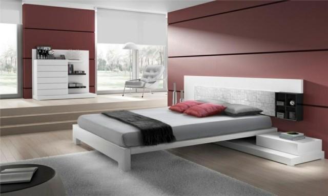 habitación silla lampara madera moderna