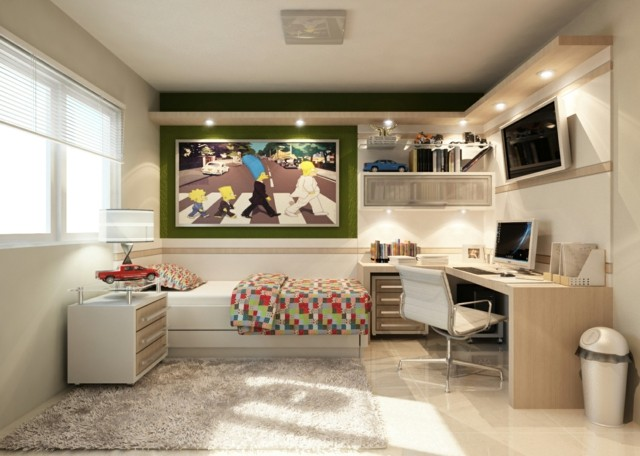 Habitaciones juveniles para chicas adolescentes - Decoracion de paredes dormitorios juveniles ...