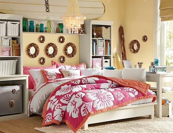 Dormitorios juveniles habitaciones juveniles para chicas for Habitaciones juveniles con cama grande