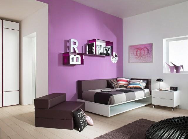 Habitaciones juveniles para chicas adolescentes for Colores modernos para habitaciones