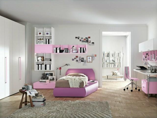 Habitaciones juveniles para chicas adolescentes for Recamaras juveniles modernas