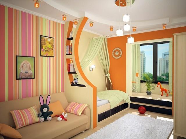 habitaciones juveniles multicolor fresco divertido amplio