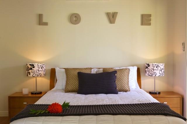 idea distinta original romantico moderno dormitorio