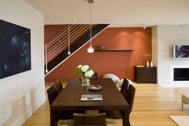 mesa marron salon zen bonito moderno