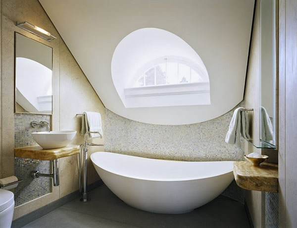 idea genial bañera marmol blanco moderno pequeño