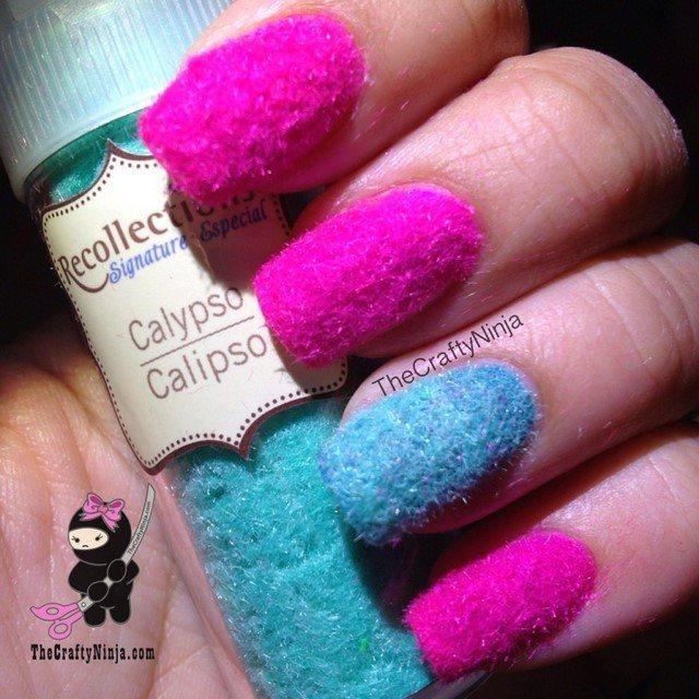 idea innovadora uñas algodon rosa moderno