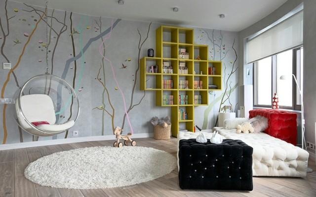 habitaciones juveniles idea interesante atrevida muebles diseño chica