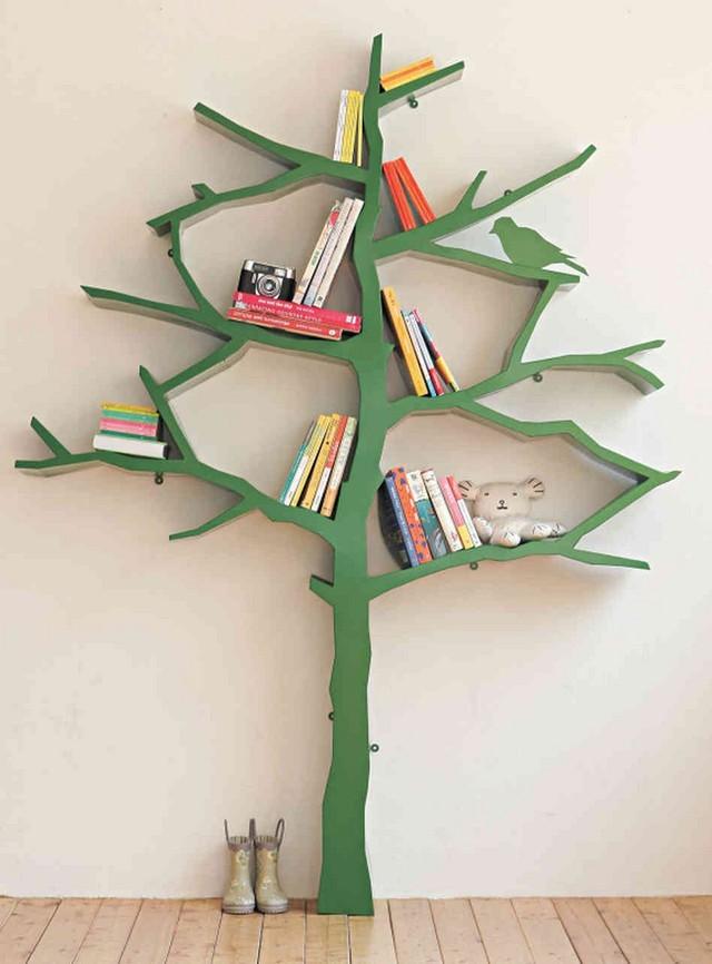 idea naturalista joven casa arbol verde bonito