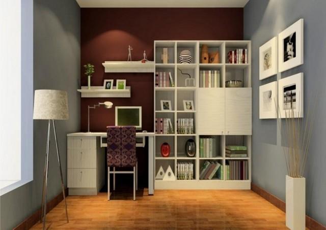 Estanterias para libros ideas originales for Ideas despacho en casa