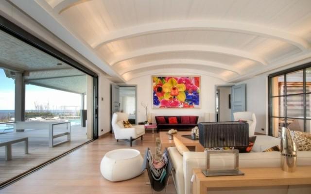 colores claros muebles paredes diseño moderno