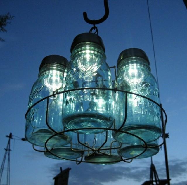 iluminación exterior botes luz bombillas