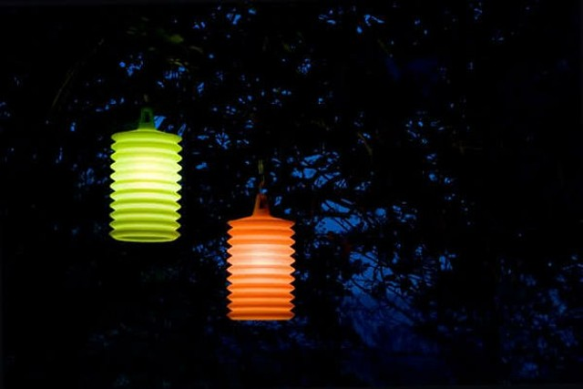 iluminacion exterior dos lamparas cogadas