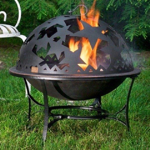 increible diseño de bola de fuego