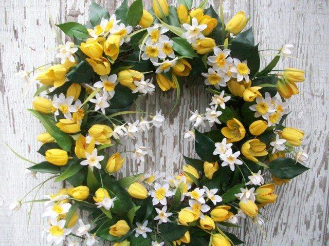 inspiracion bonitas flores amarillas blancas