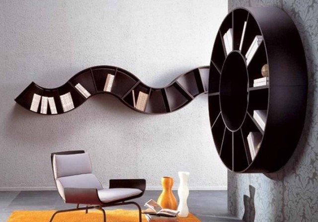 interesante idea casa moderna redondo bonito marron