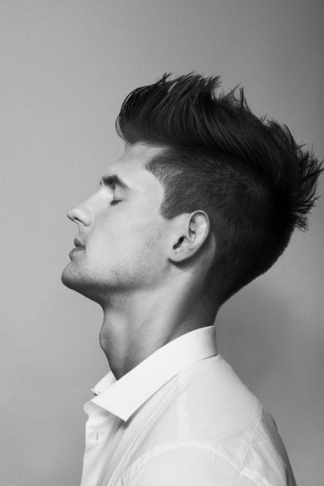 interesante moderno peinado masculino tupe bonito
