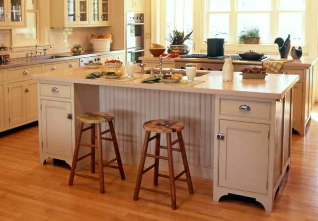 isla cocina estilo vintage bonita moderna original