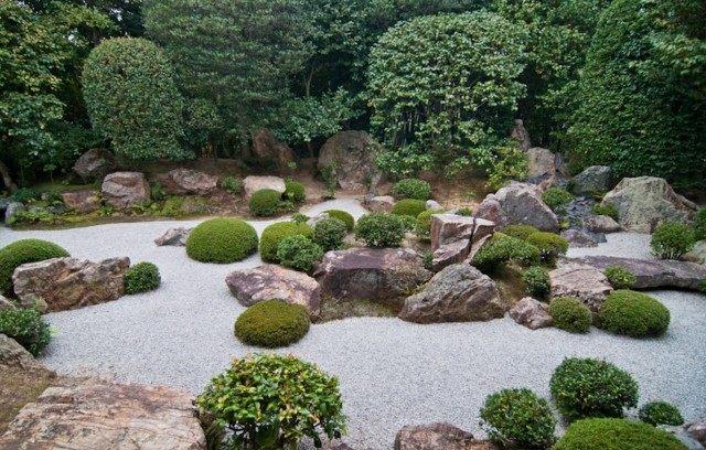 Dise o de jardines para meditaci n zen - Giardini zen da esterno ...