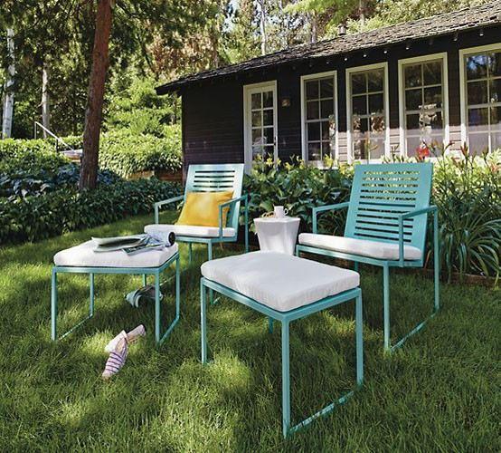 Muebles de jard n ideas para disfrutar del buen tiempo - Muebles de jardin ...
