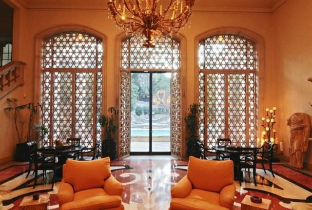 jardin decoracion marroqui estupendo naranja