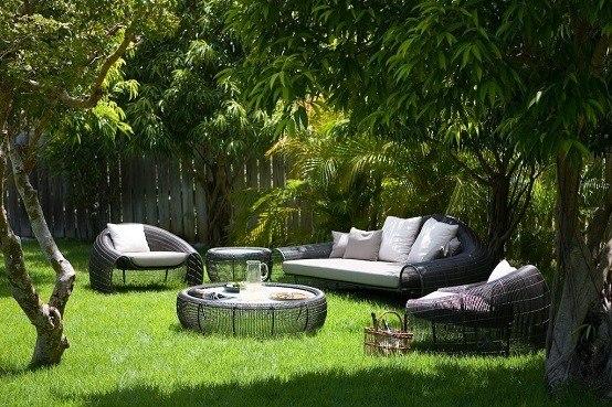 Decoraci n de salones al aire libre ideas de exito for Diseno de muebles de jardin al aire libre