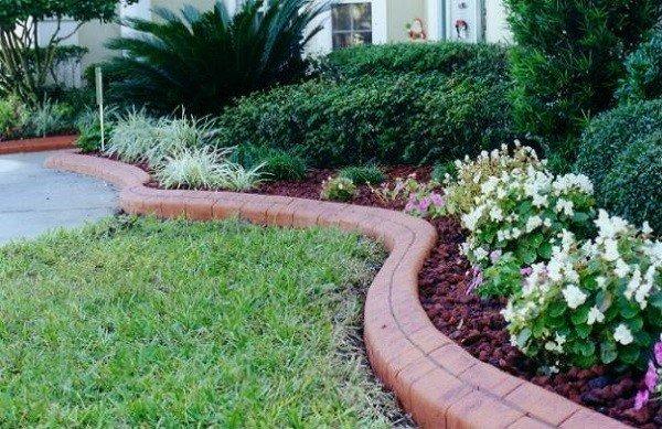 jardinera colores mantillo flores plantas
