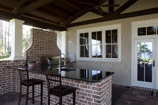 cocinas de dise o veraniego sabores y estilos al aire libre On cocinas con vista al patio
