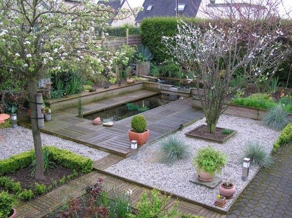 Lagos y piscinas naturales para el jard n - Estanques para jardines ...