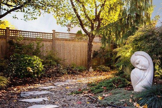 lajas plantas jardineria cuidados escultura