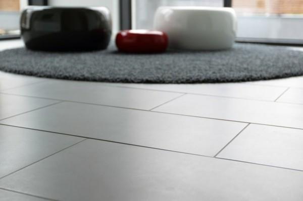 laminado baldosas lisas gris alfombra