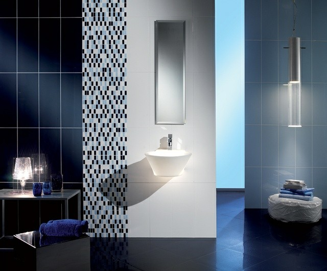 Azulejos para ba os modernos 50 ideas incre bles for Comprar azulejos sueltos