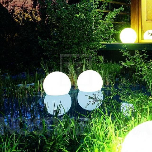 Iluminaci n exterior crea un ambiente m gico en su jard n - Lamparas solares de jardin ...