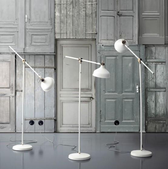 lamparas salon metalicas regulables