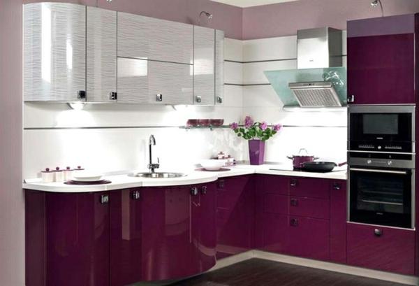 Decoraci n de cocinas lo ltimo en tendencias - Cocinas rosa fucsia ...