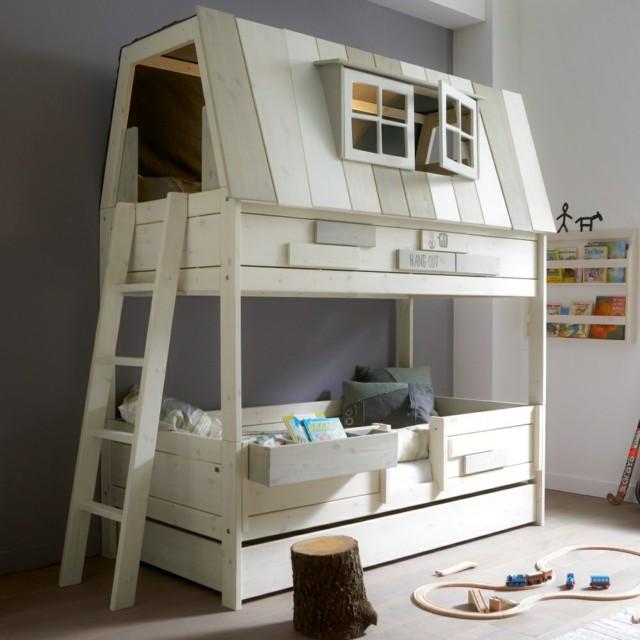 literas infantiles casa madera moderna interesante