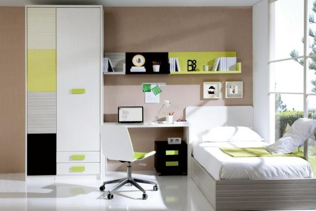 luz moderna buro computadora calida mobiliario