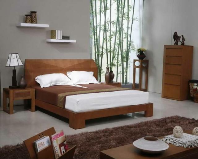 madera bambu decoracion alfombra lamparas