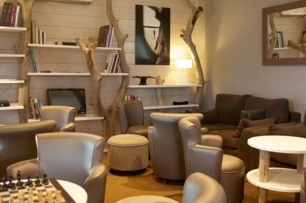 maderas flotantes como adornos para el hogar. Black Bedroom Furniture Sets. Home Design Ideas
