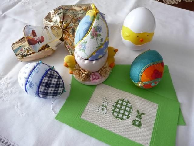 mantel huevos envoltura tela pascua