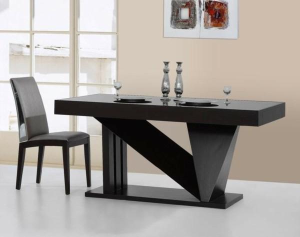 Muebles de comedor en el sal n para las cenas especiales for Comedor moderno de madera