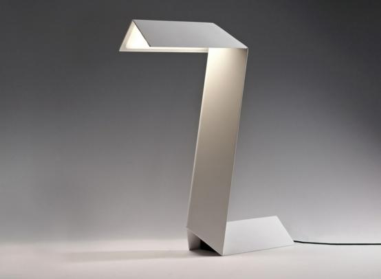 mesa zeta lampara salon