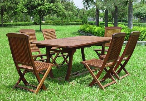 Muebles de jard n ideas para disfrutar del buen tiempo for Mesas de terraza plegables