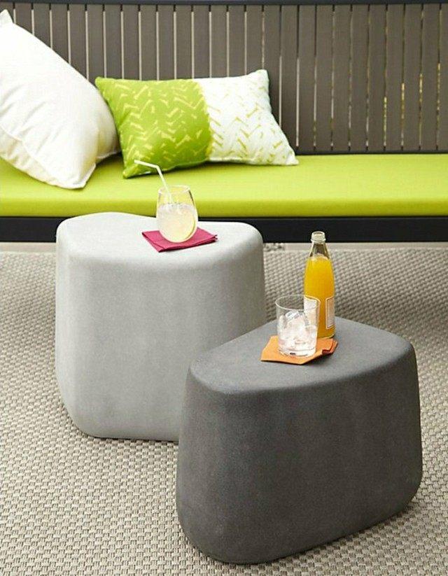 mesas taburetes formas materiales cuidan medio ambiente
