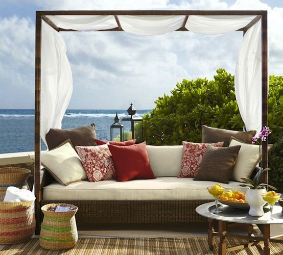 Muebles de jard n ideas para disfrutar del buen tiempo - Cojines muebles exterior ...