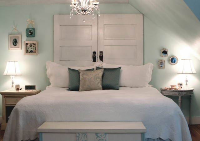 mesitas noche cabezera cama puertas moderno antuiguo