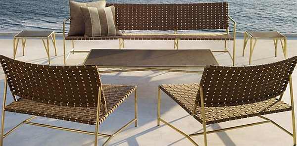 metal tejidas silla patio metal terraza