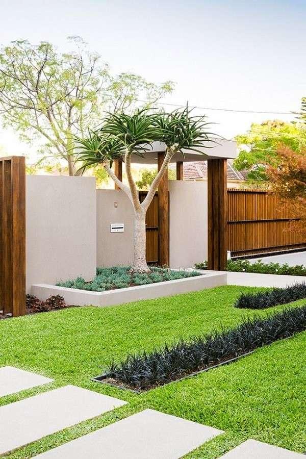 paisajes bonitos minimalistico contemporaneo jardin