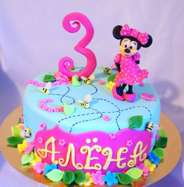 minnie mouse flores decoracion flores abejas