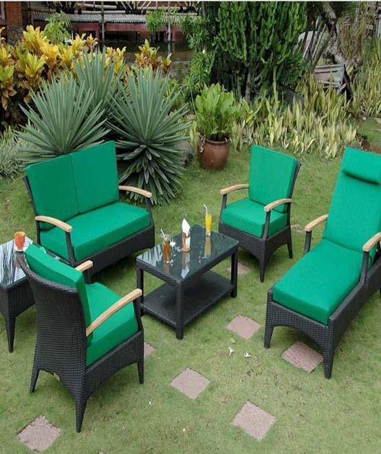 Lujoso Muebles De Jardín Tropical Imagen - Muebles Para Ideas de ...