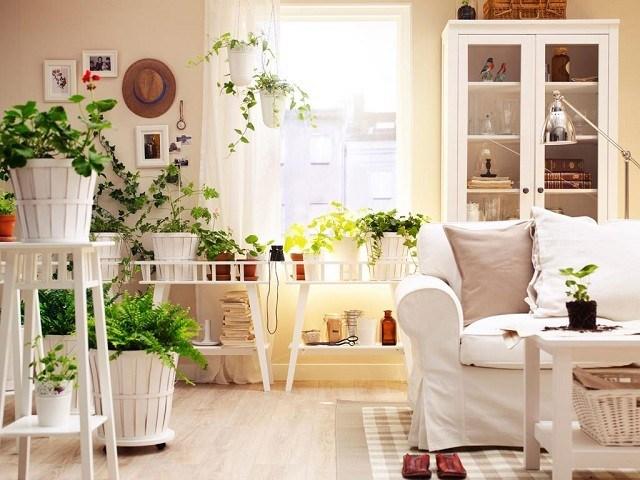 mobiliario madera colores calidos diseño lampara